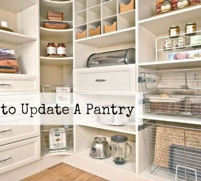 Five Ways to Update The Pantry