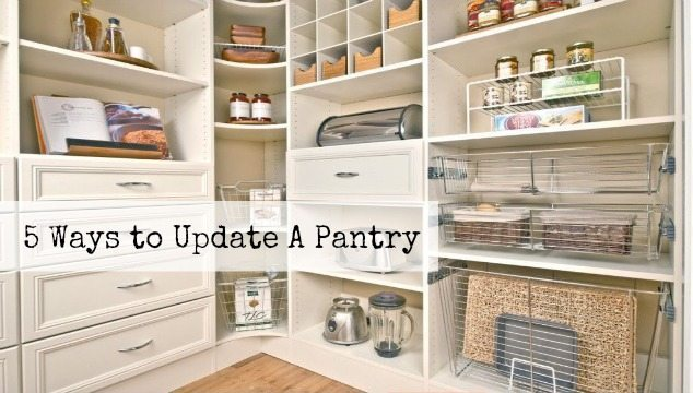 5 Ways to Update a Pantry