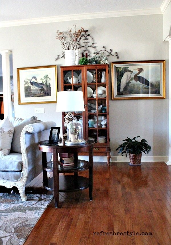 Living Room Bird Prints