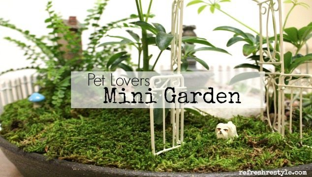 Mini Garden Pet Lovers