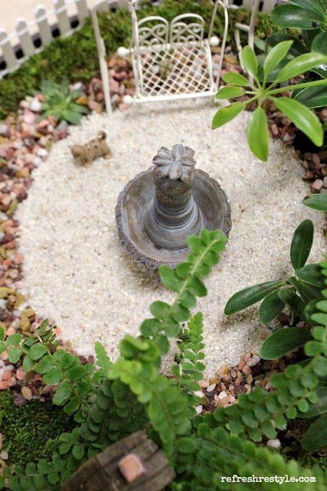 Mini Garden Cat