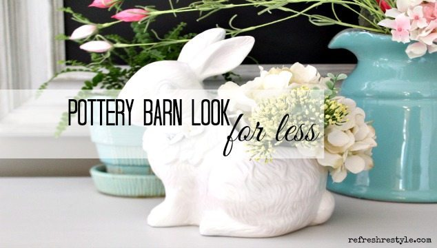 Pottery Barn Ceramic Bunny