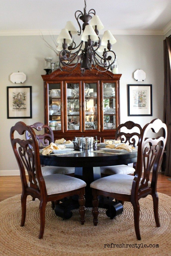House Tour - Dining Room