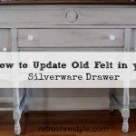 How to Update Felt Drawer