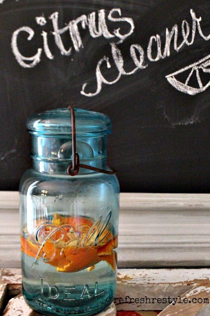 Natural Citrus Cleaner - DIY