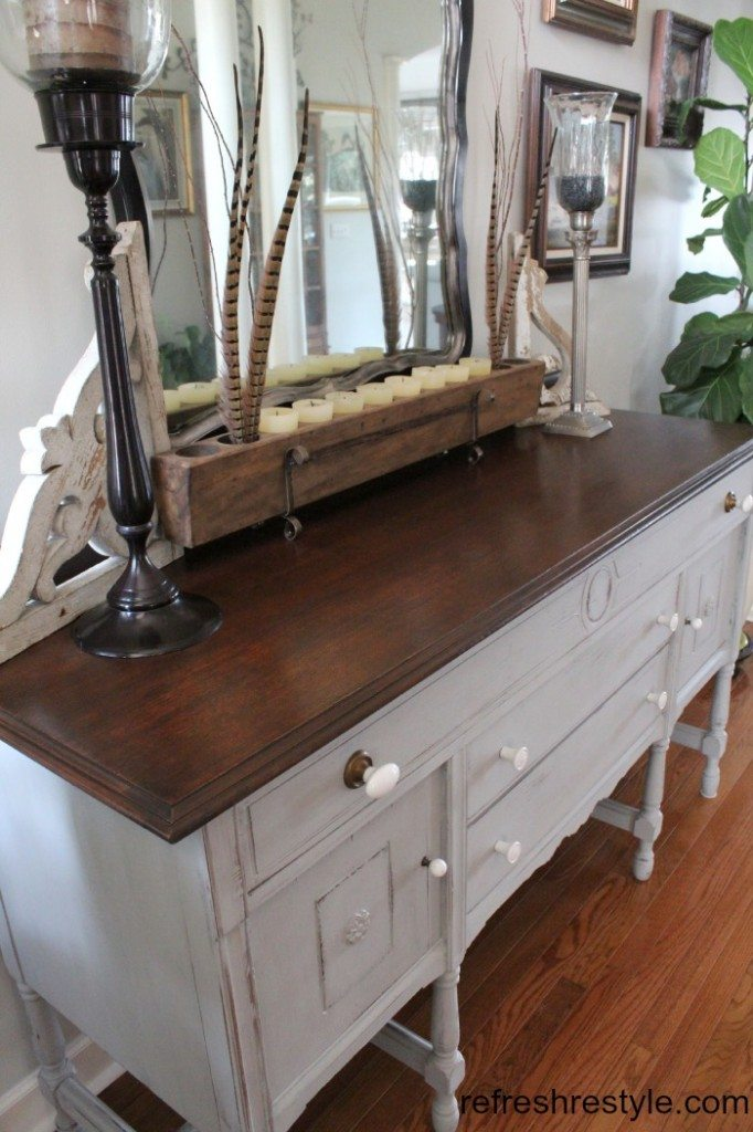Great buffet makeover