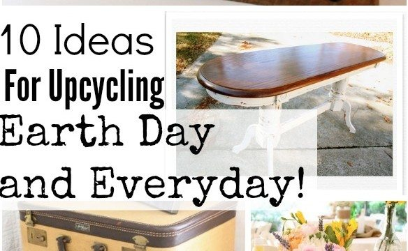 Up-cycle for Earth day