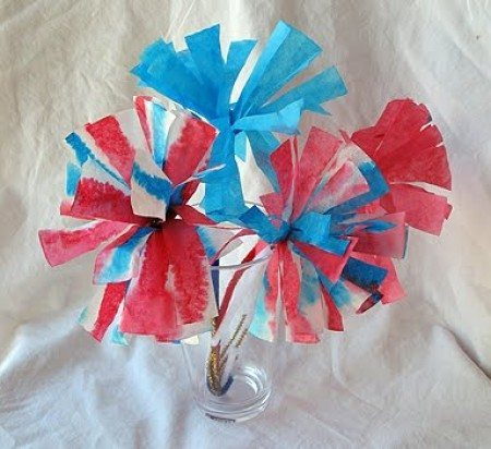 07 - Crafts by Amanda - Coffee Filter Flowers
