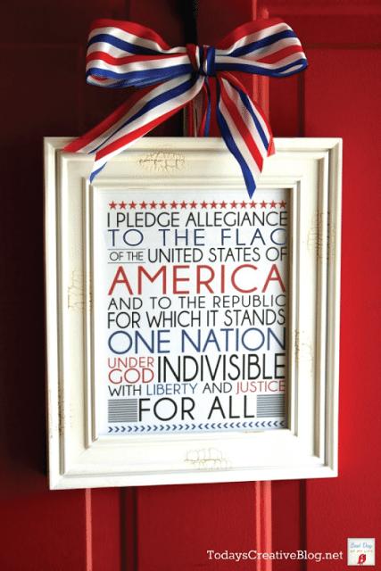 13 - 733 Blog - Pledge of Allegiance Printable
