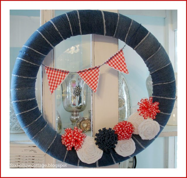 16 - Fox Hollow Cottage - Pool Noodle Wreath