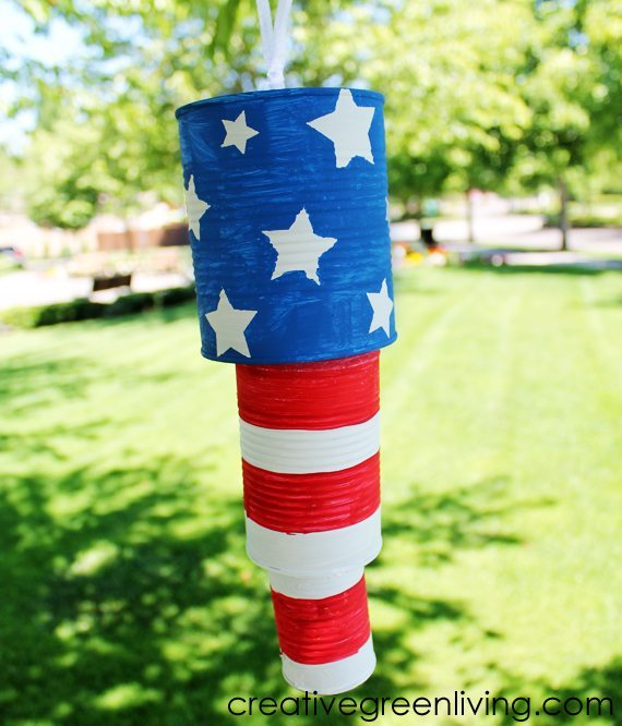 20 - Creative Green Living - 4th of July Windchime