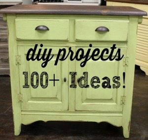 DIY projects Chairs dressers tables and more
