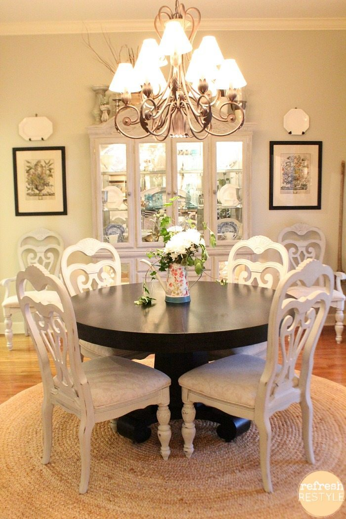 Swell How To Spray Paint Dining Chairs Refresh Restyle Squirreltailoven Fun Painted Chair Ideas Images Squirreltailovenorg