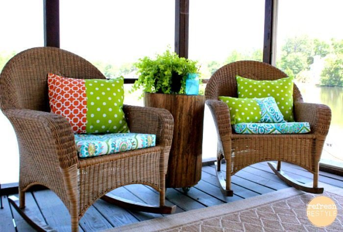 Fabric Rocking Chair Cushions