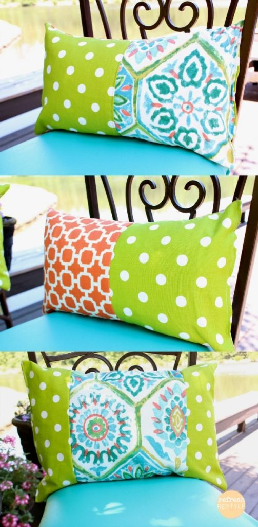 Fabric Triple Pillows