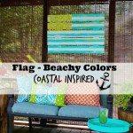Flag beachy colors