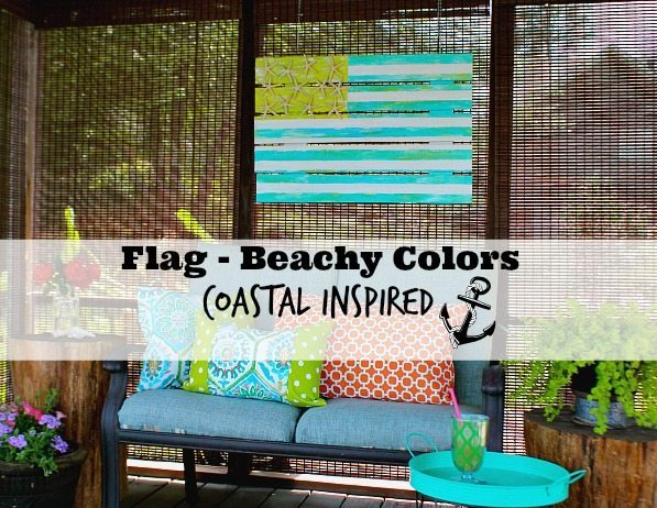 Flag beachy colors