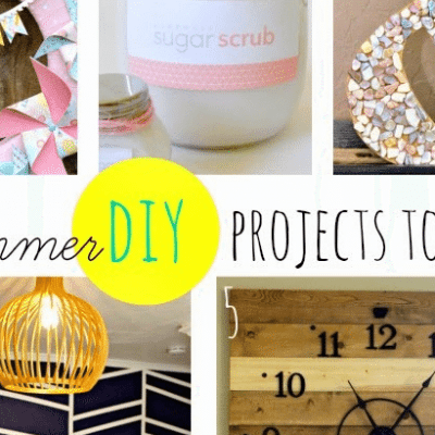Inspiration Monday and DIY Summer Projects!