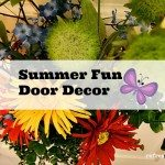Summer Fun Door decor