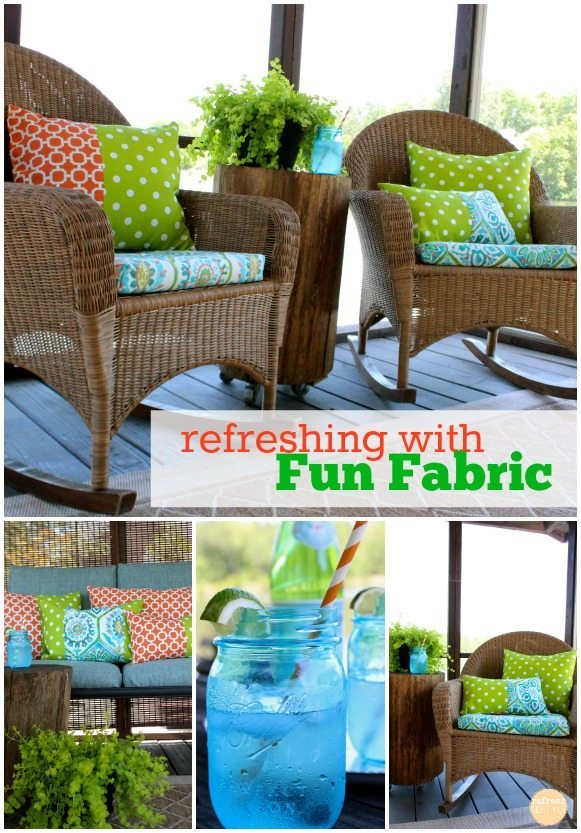 fabric refreshing