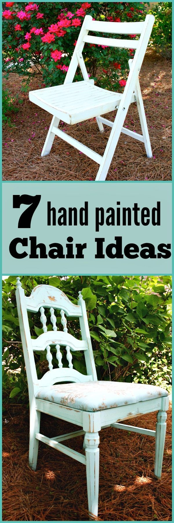 Ideas for hand painted chairs - Seven Hand Painted Chair Ideas