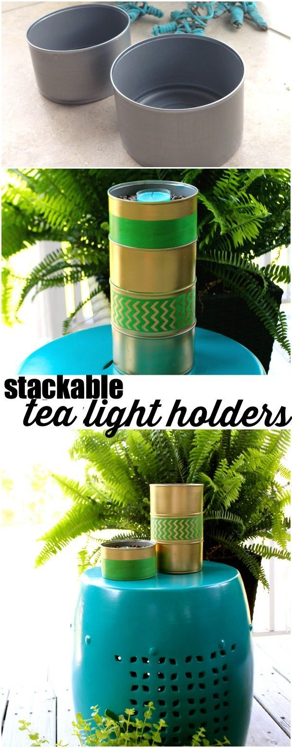 stackable tea light holder
