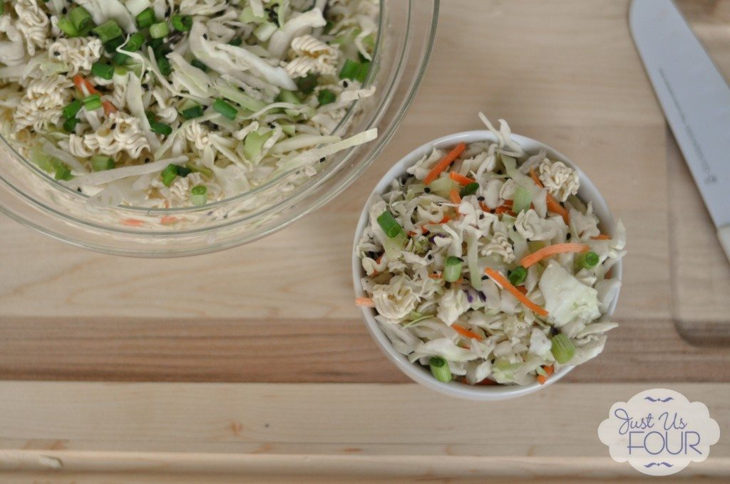 02 - Just Us Four - Asian Slaw Salad