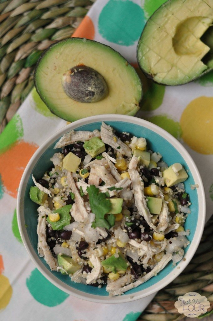 04 - Just Us Four - Chicken Avocado Quinoa Salad