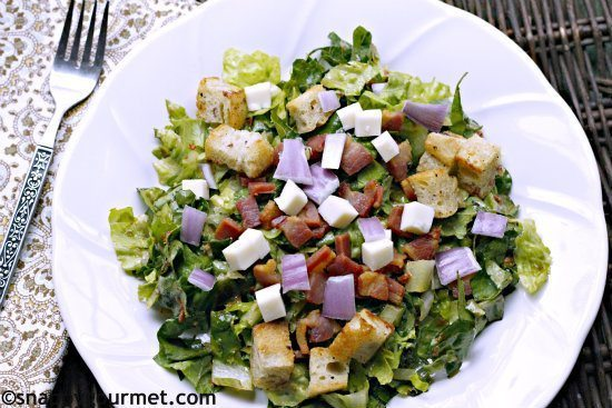 08 - Snappy Gourmet - Chopped Italian Greased Pig Salad