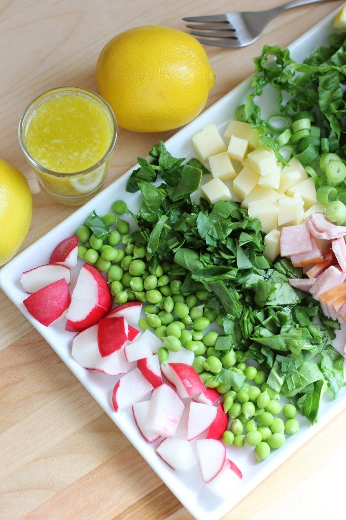 11 - Daily Squeeze - Spring Cobb Salad with Lemon Parmesan