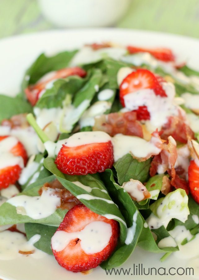 13 - Lil Luna - Strawberry Bacon Salad
