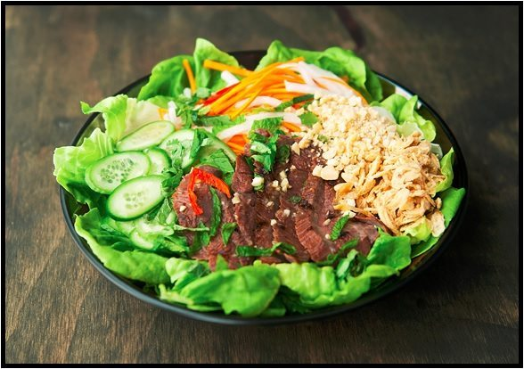 16 - Use Real Butter - Vietnamese Beef Salad