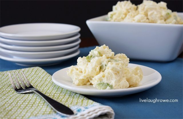 19 - Live Laugh Rowe - Homemade Potato Salad