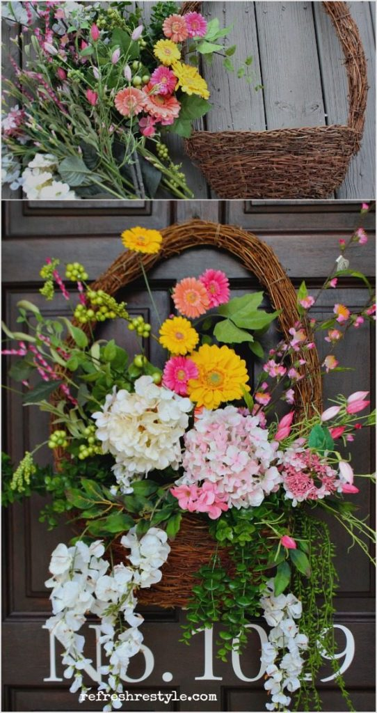 Colorful front porch - made easy