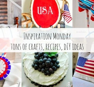 Patriotic Inspiration, A Giveaway and A Party