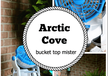 Arctic Cove Bucket Top Mister