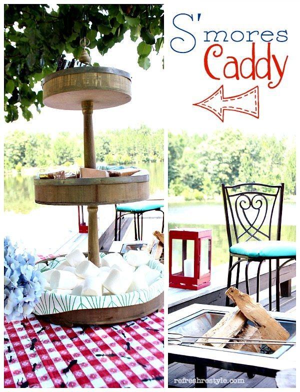 S'mores Caddy #smores #summer #summertime