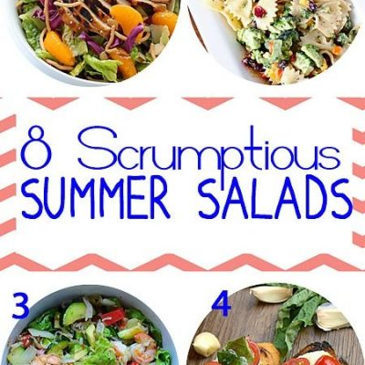 8 Scrumptious Summer Salads and Inspiration Monday Party