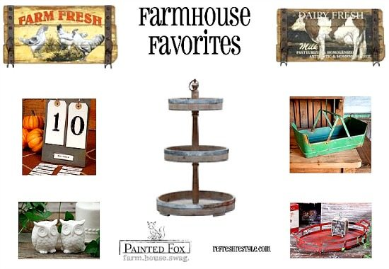 Farmhouse Favorites #ad #paintedfox #farmhousedecor #farmhouse