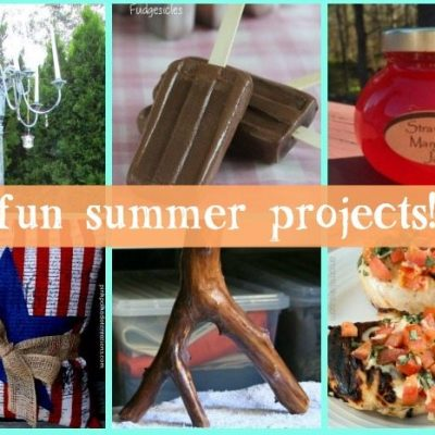 Hot, Hot, Hot Summer Features and Inspiration Monday