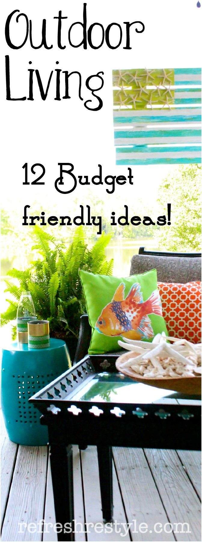 Outdoor living ideas outdoorbeing for Outdoor living ideas on a budget