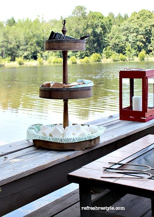 S'mores Caddy #smores #summer #summertime