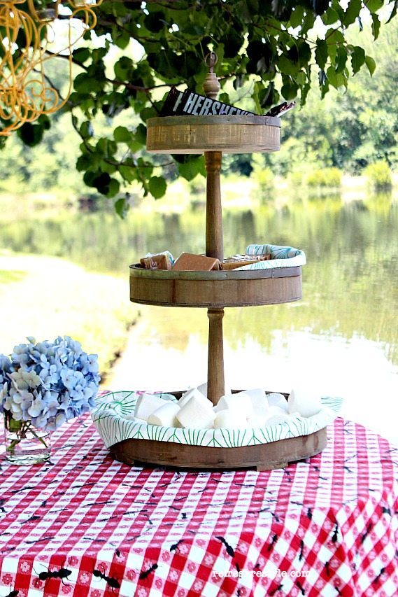 S'mores Caddy #summer #cookout