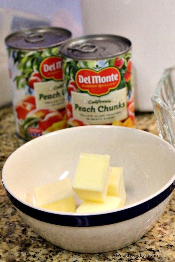 Peach Cobbler Recipe - easy