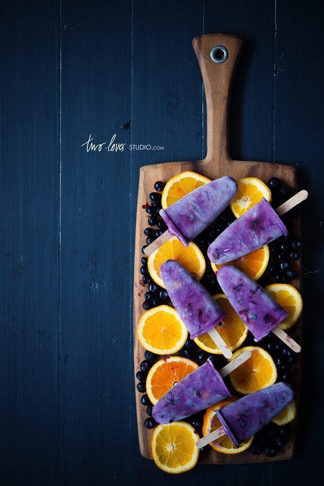 10 - Two Loves Studio - Blueberry Orange Icy Pops