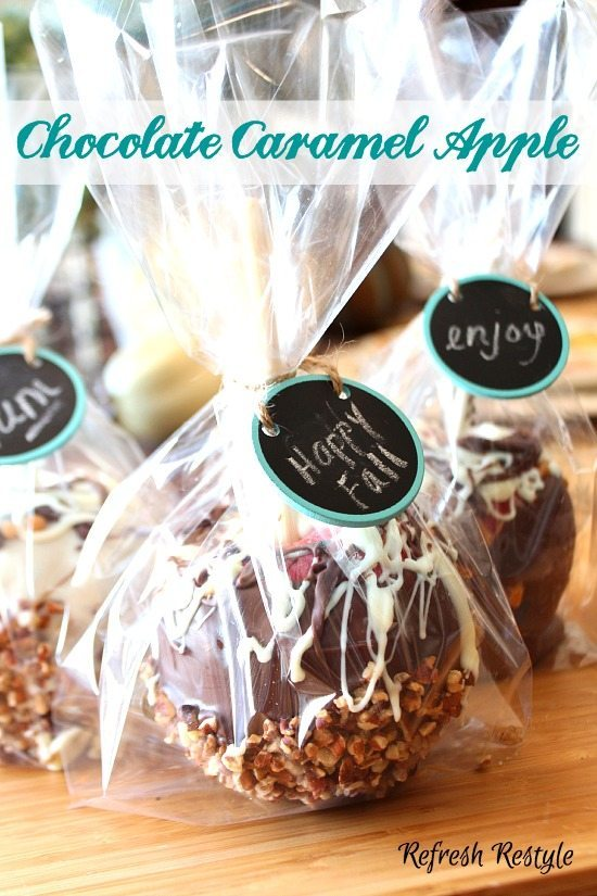 Chocolate caramel Apple Recipe