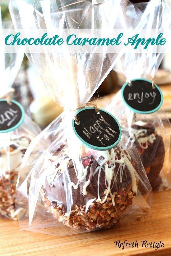 Chocolate caramel Apple Recipe