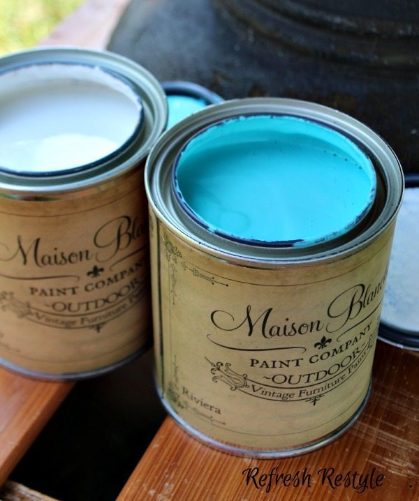 Maison Blanche Outdoor Furniture Paint