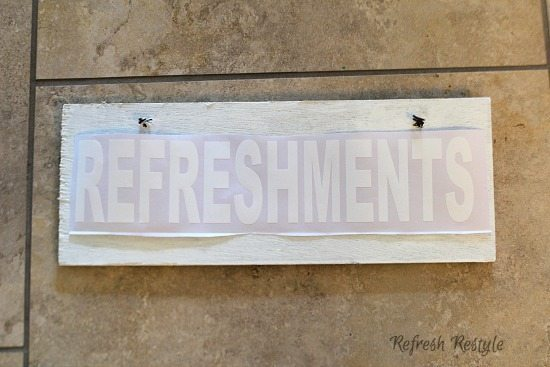 Recycle an Old Sign - Make a new one!