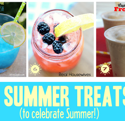 Cool Summer Treats and Inspiration Monday